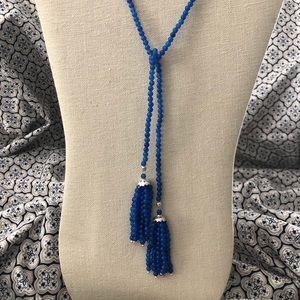 Jewelry - Blue Quartz Lariat